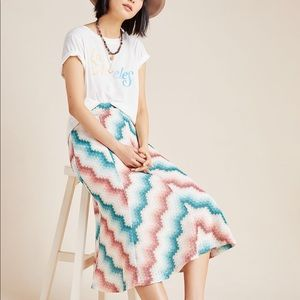 MAEVE Knit Midi Skirt